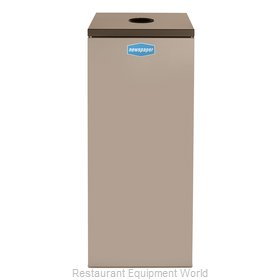 Rubbermaid FGNC36C6 Waste Receptacle Recycle