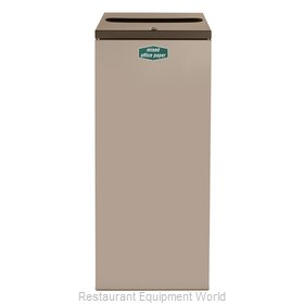Rubbermaid FGNC36P10L Waste Receptacle Recycle