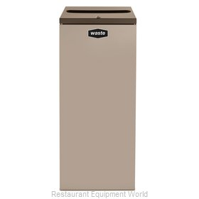 Rubbermaid FGNC36P4L Waste Receptacle Recycle