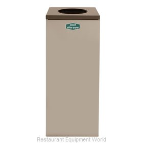 Rubbermaid FGNC36W10 Recycling Receptacle / Container