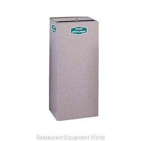 Rubbermaid FGNC36W2L Waste Receptacle Recycle