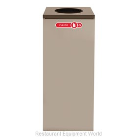 Rubbermaid FGNC36W3 Waste Receptacle Recycle