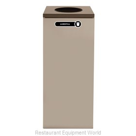 Rubbermaid FGNC36W4 Recycling Receptacle / Container