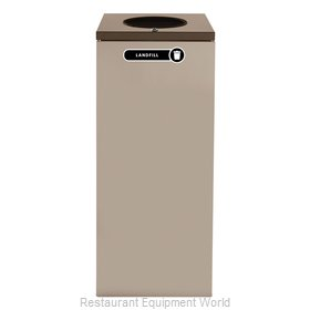 Rubbermaid FGNC36W4L Recycling Receptacle / Container