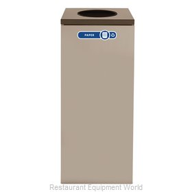 Rubbermaid FGNC36W5 Recycling Receptacle / Container