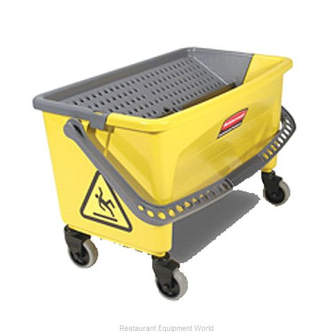 Rubbermaid FGQ90088YEL Mop Bucket Wringer Combination