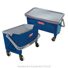 Rubbermaid FGQ93000BLUE Mop Bucket Wringer Combination