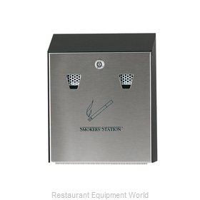 Rubbermaid FGR1012EBK Smokers Station