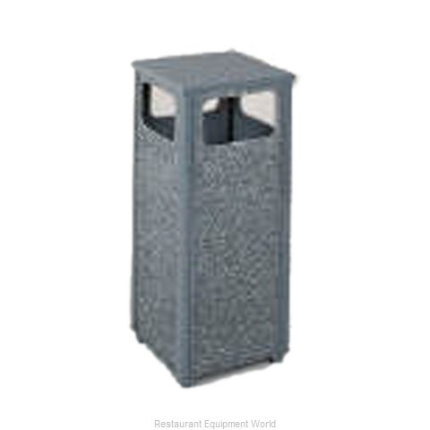 Rubbermaid FGR122000PL Trash Receptacle, Outdoor/Indoor (Magnified)