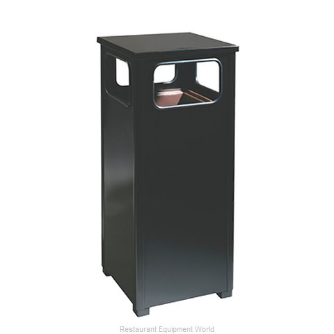 Rubbermaid FGR12SBKPL Waste Receptacle Outdoor