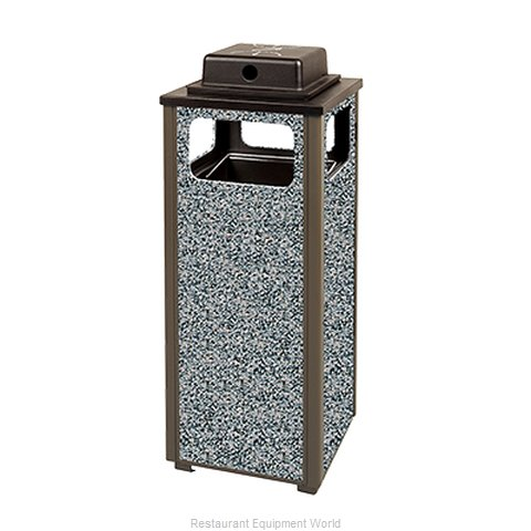 Rubbermaid FGR12WU6000PL Ash Tray Top Sand Urn Trash Can Base