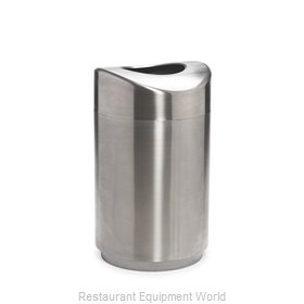 Rubbermaid FGR2030SSPL Waste Basket, Metal