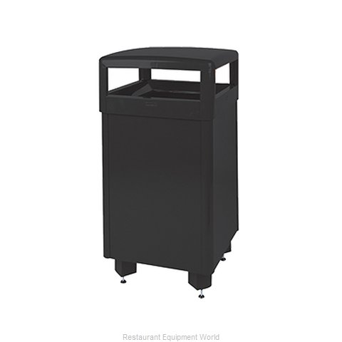 Rubbermaid FGR36HTSBKPL Waste Receptacle Outdoor