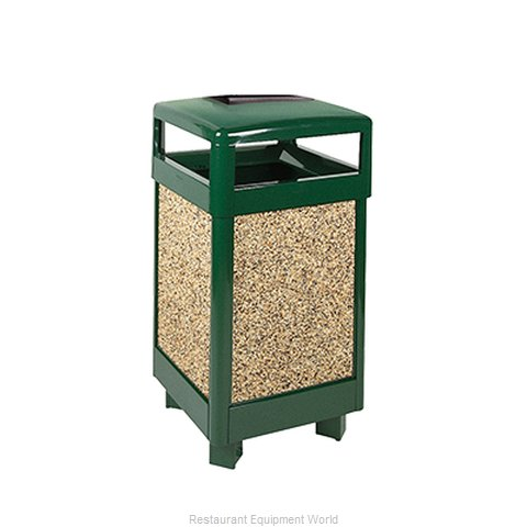Rubbermaid FGR36HTWU202PL Waste Receptacle Outdoor (Magnified)