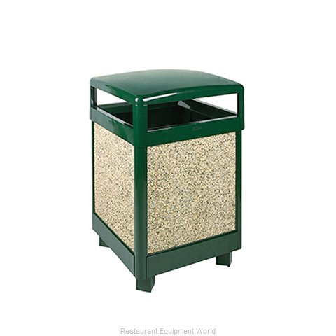 Rubbermaid FGR38HT202PL Trash Receptacle, Outdoor/Indoor