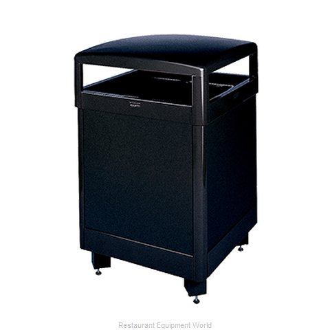 Rubbermaid FGR48HTSBKPL Waste Receptacle Outdoor