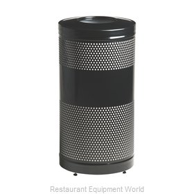 Rubbermaid FGS3ETBKPL Waste Receptacle Recycle