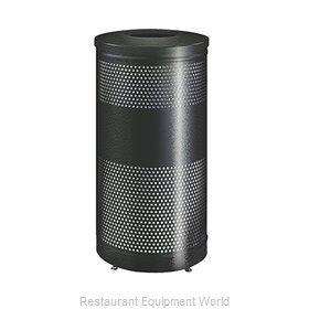 Rubbermaid FGS3ETHGRPL Waste Receptacle Recycle