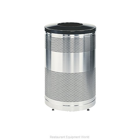 Rubbermaid FGS55SSTBKPL Waste Receptacle Recycle