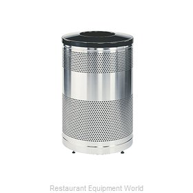 Rubbermaid FGS55SSTBKPL Recycling Receptacle / Container