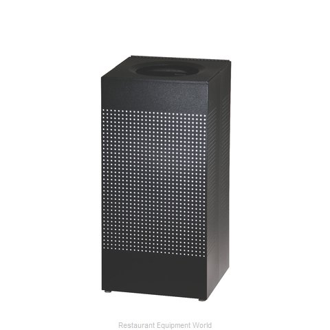 Rubbermaid FGSC14EPLTBK Trash Receptacle, Indoor