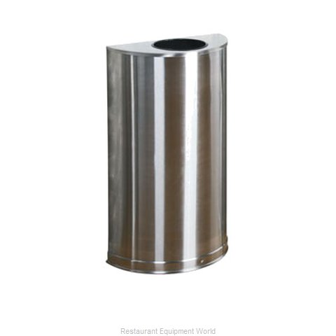 Rubbermaid FGSO12SSSPL Trash Receptacle, Indoor