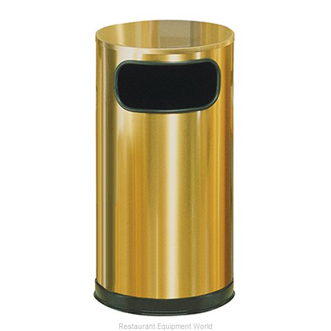 Rubbermaid FGSO16SBSGL Trash Garbage Waste Container Stationary
