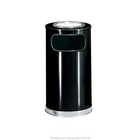 Rubbermaid FGSO16SU20GLBK Ash Tray Top Sand Urn Trash Can Base (Magnified)