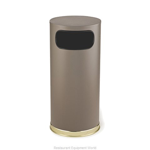 Rubbermaid FGSO17SBBRGL Ash Tray Top Sand Urn Trash Can Base (Magnified)