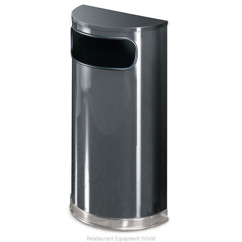 Rubbermaid FGSO820PLANT Waste Basket Metal