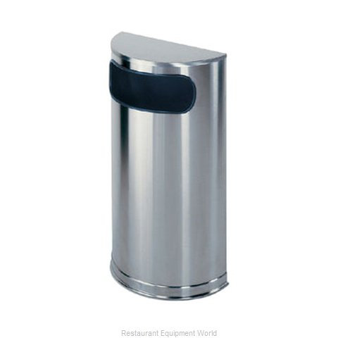 Rubbermaid FGSO8SSSPL Waste Basket Metal