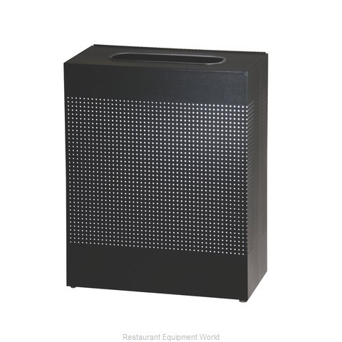 Rubbermaid FGSR18EPLTBK Trash Receptacle, Indoor