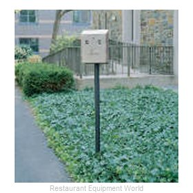 Rubbermaid FGSSIG Smokers Station Pole