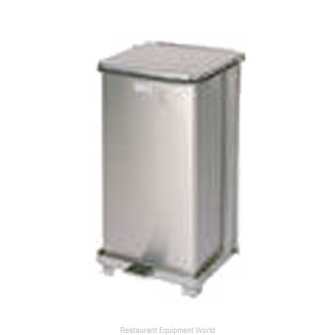 Rubbermaid FGST12SSRB Waste Basket, Metal