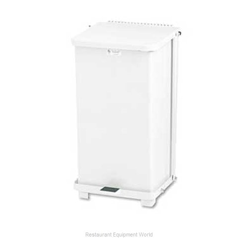 Rubbermaid FGST24ERBWH Waste Basket, Metal