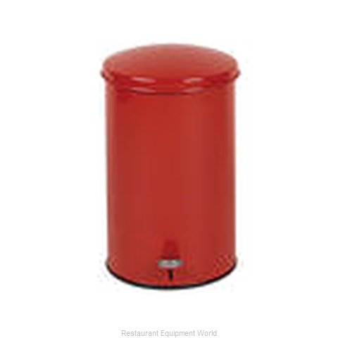 Rubbermaid FGST35EGLRD Waste Basket, Metal