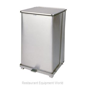 Rubbermaid FGST40SSPL Waste Basket, Metal