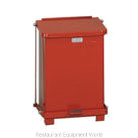 Rubbermaid FGST7EPLRD Waste Basket, Metal