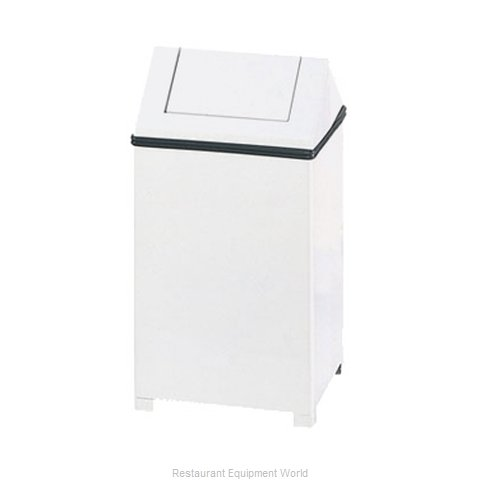 Rubbermaid FGT1414ERBWH Trash Garbage Waste Container Stationary