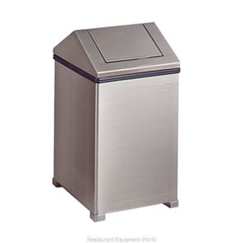 Rubbermaid FGT1424SSPL Trash Garbage Waste Container Stationary