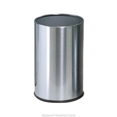 Rubbermaid FGUB1900SSS Waste Basket Metal (Magnified)