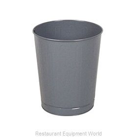 Rubbermaid FGWB26GR Waste Basket, Metal