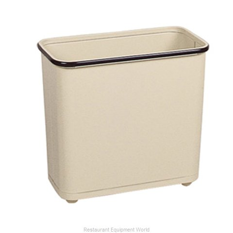 Rubbermaid FGWB30RAL Waste Basket, Metal