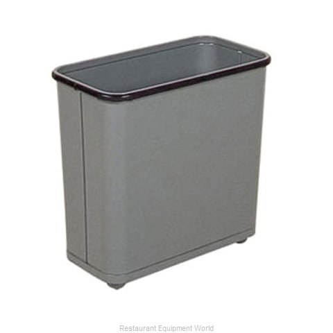 Rubbermaid FGWB30RGR Waste Basket Metal