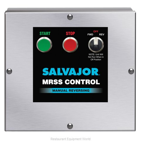 Salvajor MRSS Disposer Control Panel (Magnified)