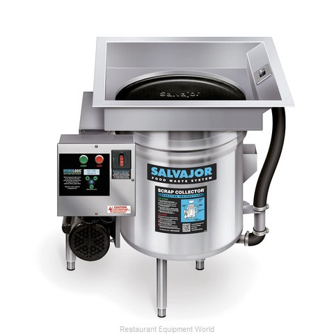 Salvajor S914 Food Waste Collector Scrapper