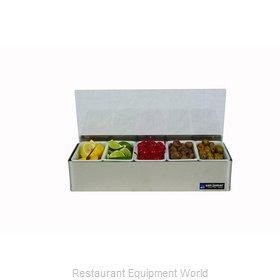 San Jamar B4155LRD Bar Condiment Holder, Countertop