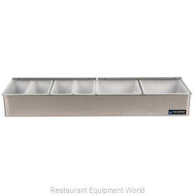 San Jamar B4246L Bar Condiment Server, Countertop