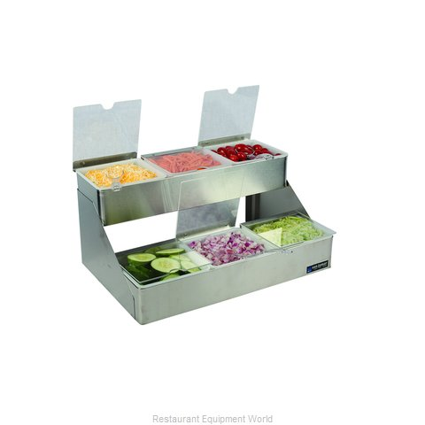 San Jamar B4706INL Bar Condiment Server Countertop