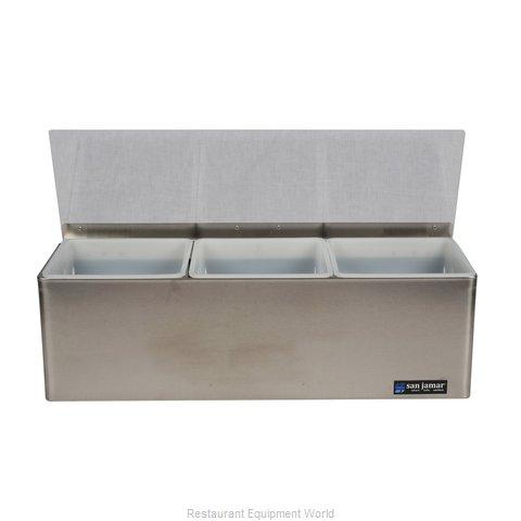 San Jamar B6183L Bar Condiment Server, Countertop